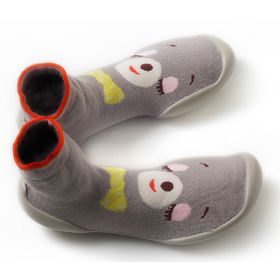 CHAUSSONS CHAUSSETTES THEME HERMINE