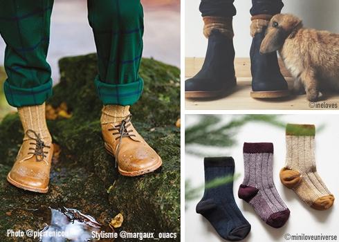 Collegien Glittery socks